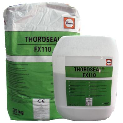 Thoroseal FX110: Flexibele cementgebaseerde coating voor kelderdichting en waterdichtin - Promacom