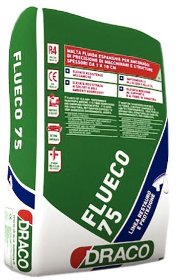 Flueco 75: Vloeibare krimpvrije mortel voor aangieten en precisieverankering van  - Promacom