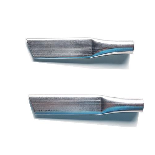 Inox nozzle voor mortelpistool: Speciale spuitkop voor montage op de Spirofix mortelpomp voor het prof - Promacom