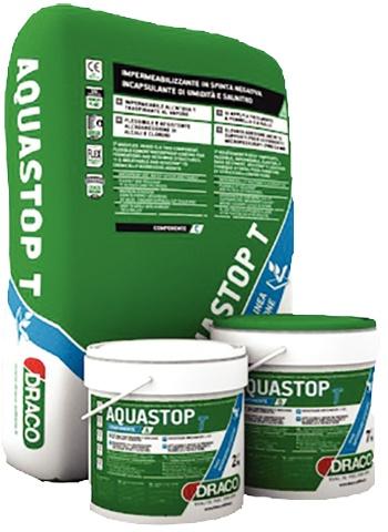 Aquastop T: Drie componenten waterdichte epoxycement coating met uitzonderlijke he - Promacom