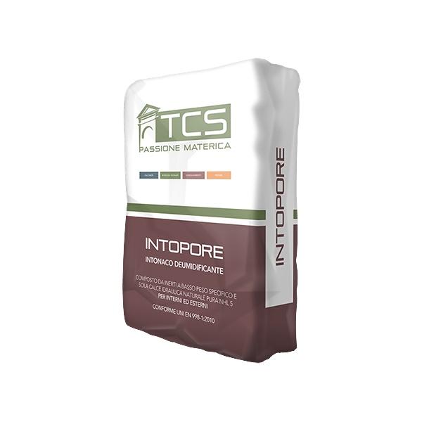 Intopore: Lichtgewicht macroporeuze ontvochtigende pleister voor restauratiewerk - Promacom