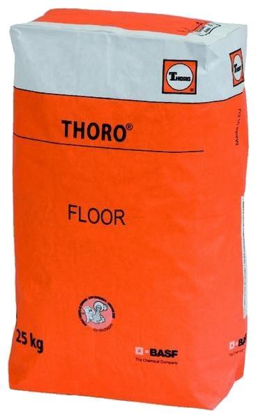 Thorofloor: Cementgebaseerde egalisatie- en uitvulmortel voor horizontale toepassi - Promacom