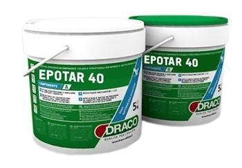 Epotar 40: Twee componenten, solventvrije epoxybitumen coating voor de beschermin - Promacom