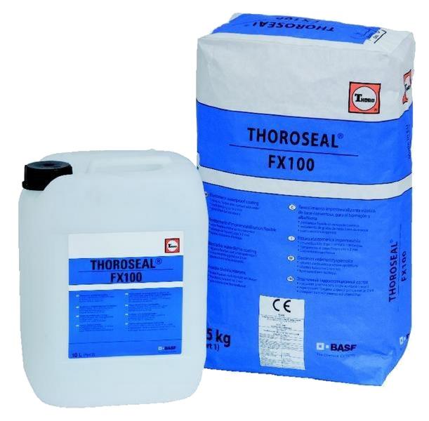 Thoroseal FX100: Flexibele cementgebaseerde coating voor scheuroverbruggende kelderdich - Promacom