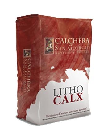 Lithocalx: Minerale afwerkpleister met decoratieve textuur en diepte-effect, voor - Promacom