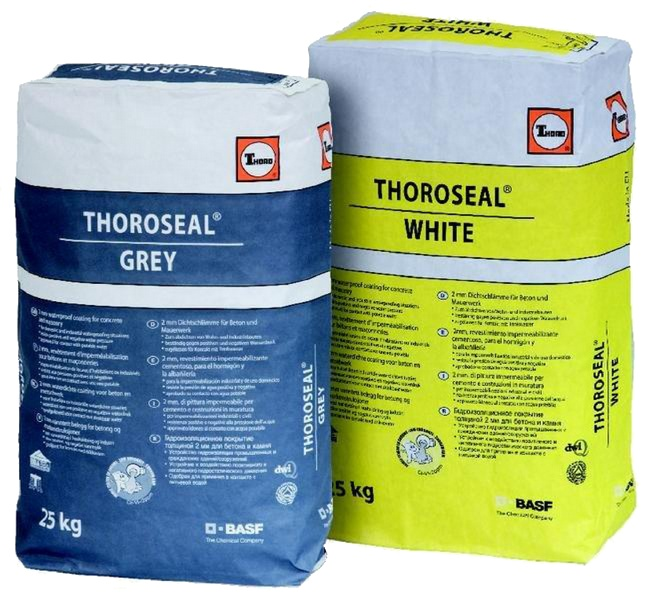 Thoroseal: Cementgebaseerde coating voor kelderdichting en waterdichting van vijv - Promacom
