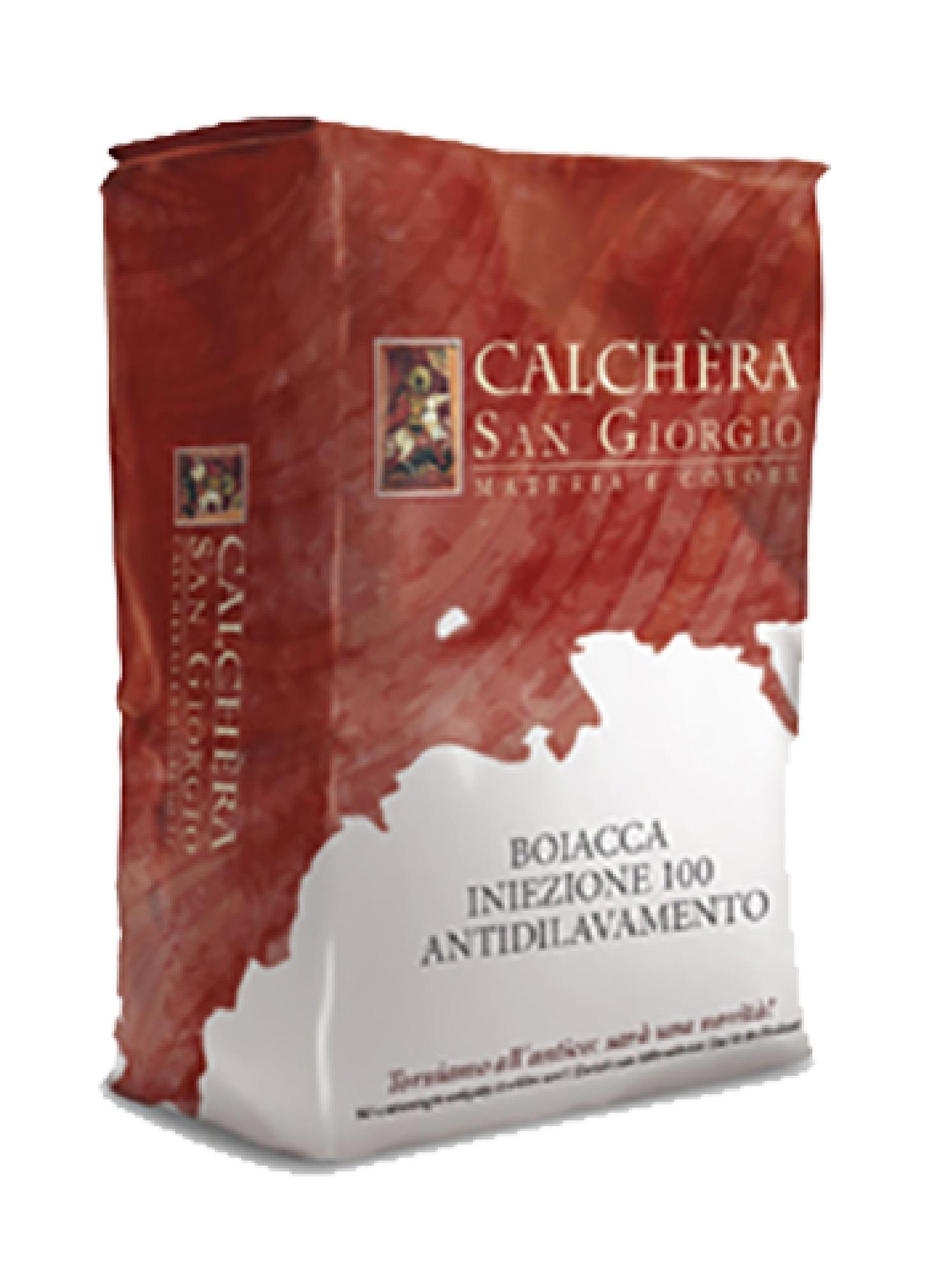 Boiacca Iniezione 100 antidilavamento: Onderwater injectiemortel voor het structureel verstevigen van histori - Promacom