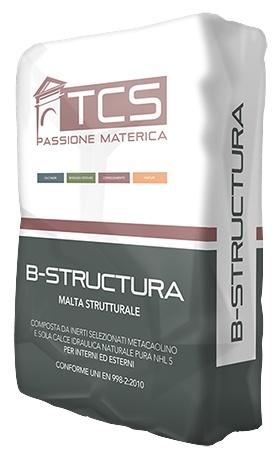 B-Structura: Structurele mortel met hoge mechanische sterkte, cohesie en adhesie aa - Promacom