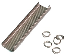 Hog Rings For Manual (S/S): Inox ringnieten - Promacom