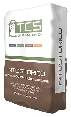 Intostorico: Restauratie- en ontvochtigingspleister voor nieuw en oud metselwerk en - Promacom