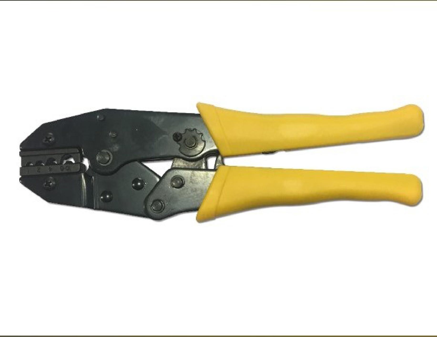 Connector Crimping Tool: Tang voor het vastsknijpen van de Spade Connector op de Lead Wire - Promacom