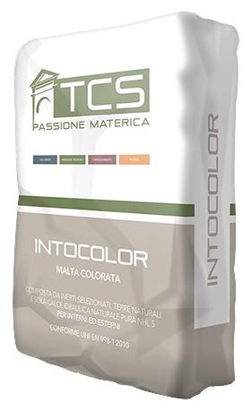 Intocolor: In de massa gekleurde pleister- en voegmortel voor binnen en buitentoe - Promacom