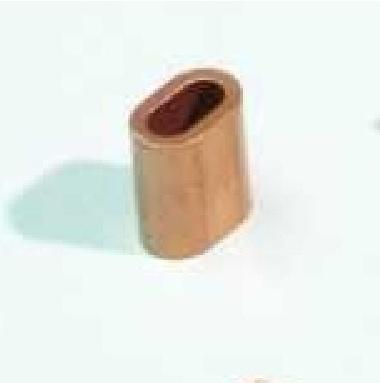 Ferrules Koper 2,5 mm: Hoogkwalitatieve naadloze koperen kabelhulzen voor het maken van beves - Promacom