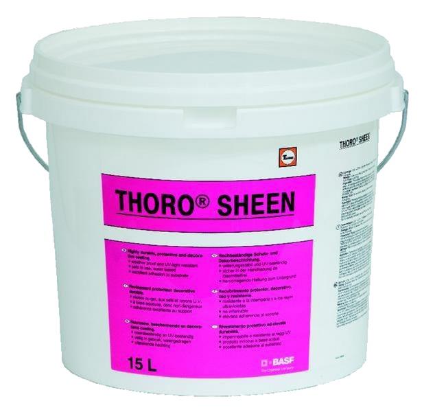 Thorosheen: Starre beschermende en decoratieve acrylaatcoating voor gevels en stru - Promacom