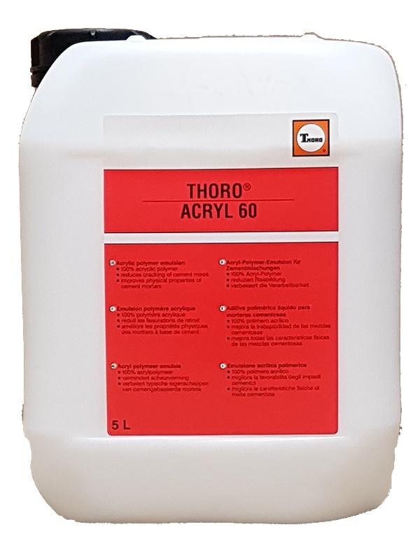 Acryl 60: Hoogwaardige toeslagstof voor cementmortels op basis van acrylaten - Promacom