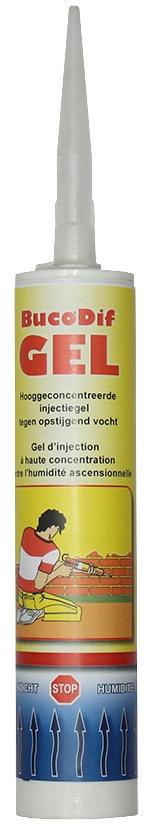 BucoDif GEL: Hooggeconcentreerde injectiegel voor het definitief stoppen van opstij - Promacom