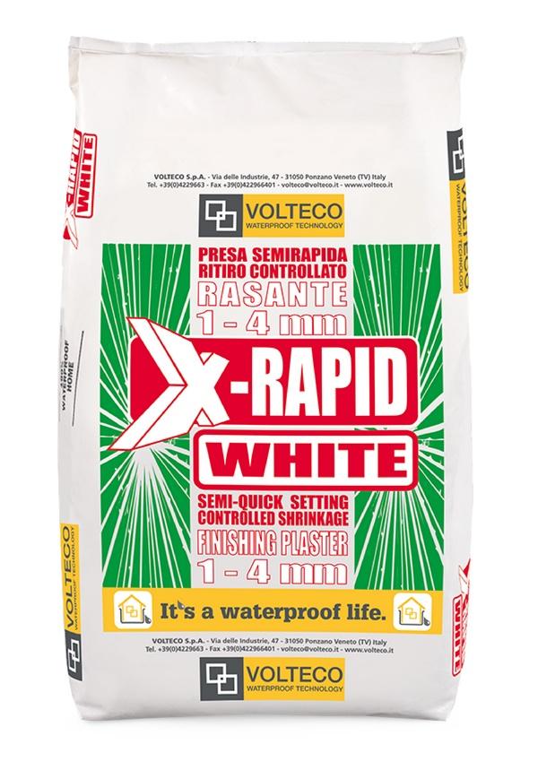 X-rapid: Waterdichte cementgebaseerde decoratieve uitvlakcoating, semi-snelzett - Promacom
