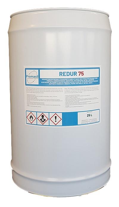 Redur 75: Eéncomponentige steenverharder op basis van tetra-ethylsilicaat v - Promacom