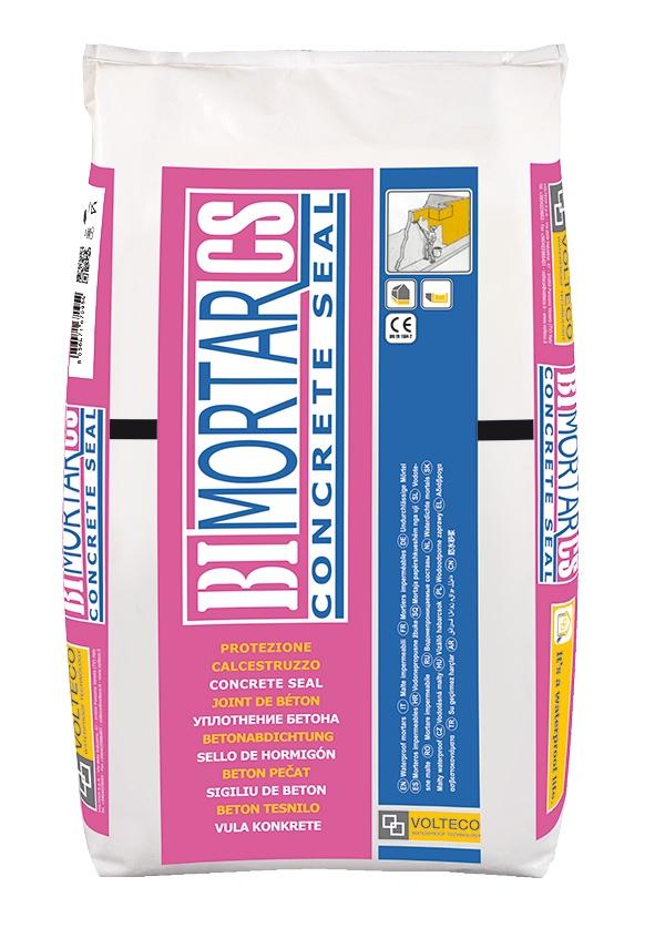 Bimortar Concrete Seal: Waterdichte cementgebaseerde coating voor toepassing met een borstel o - Promacom