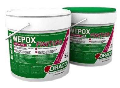 Wepox Finitura: Tranparante epoxy sealer voor het stofvrij maken en beschermen van bet - Promacom